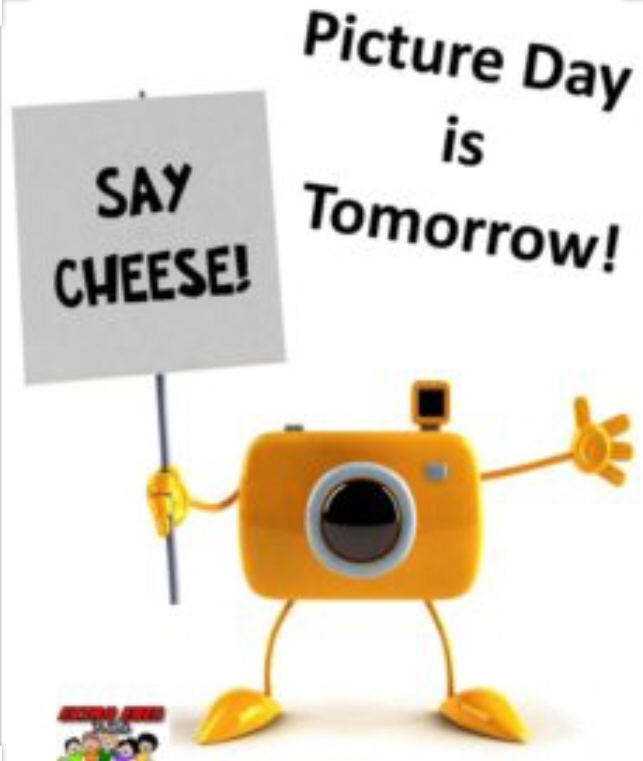 Wednesday, Sept 18th is Picture Day!! Individual, Class and senior pics will be taken!!