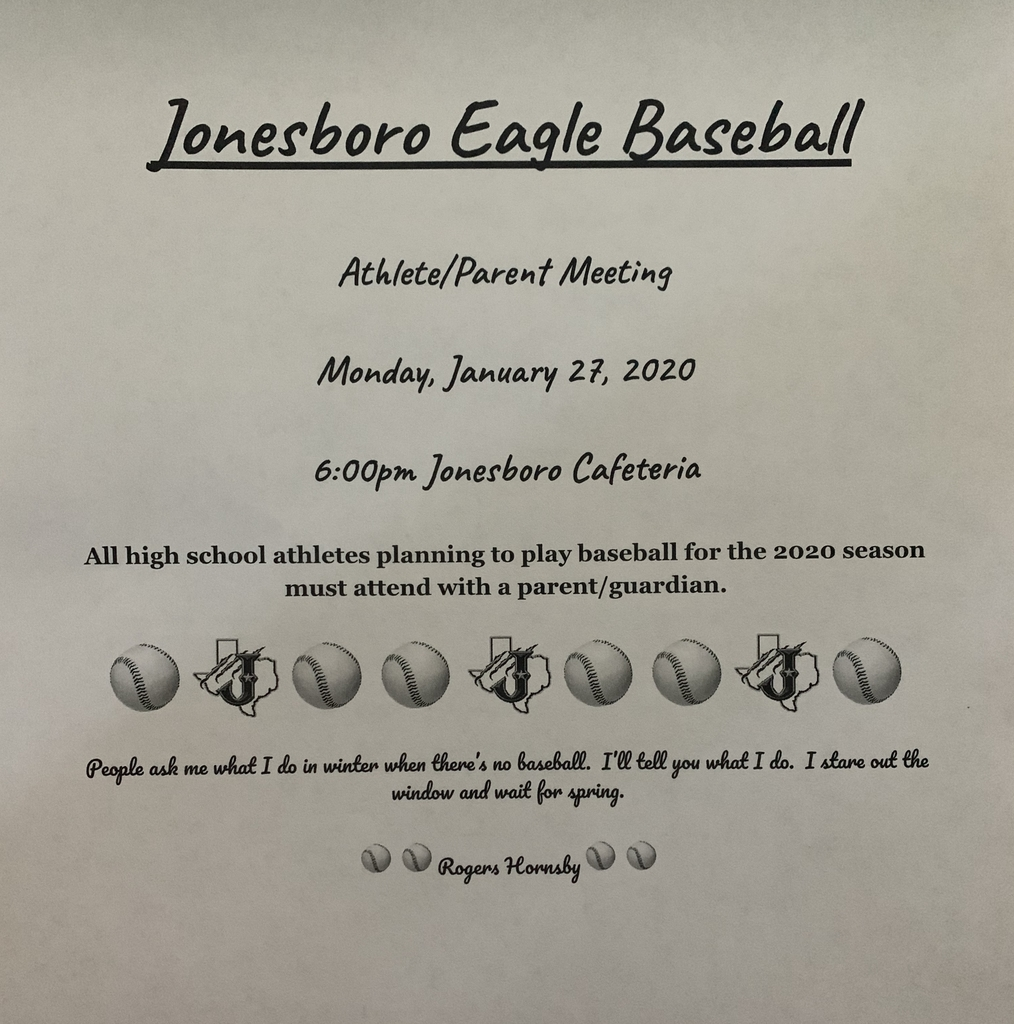 Baseball Parent Meeting Info.